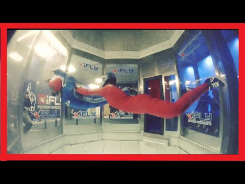My First Indoor Skydiving + VR Experience (4K)