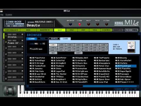 Korg m1 vst free download.