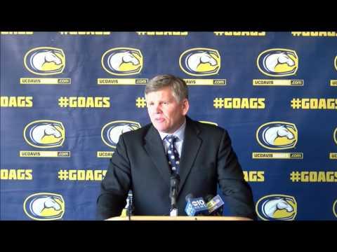 UC Davis Football Dan Hawkins Press Conference