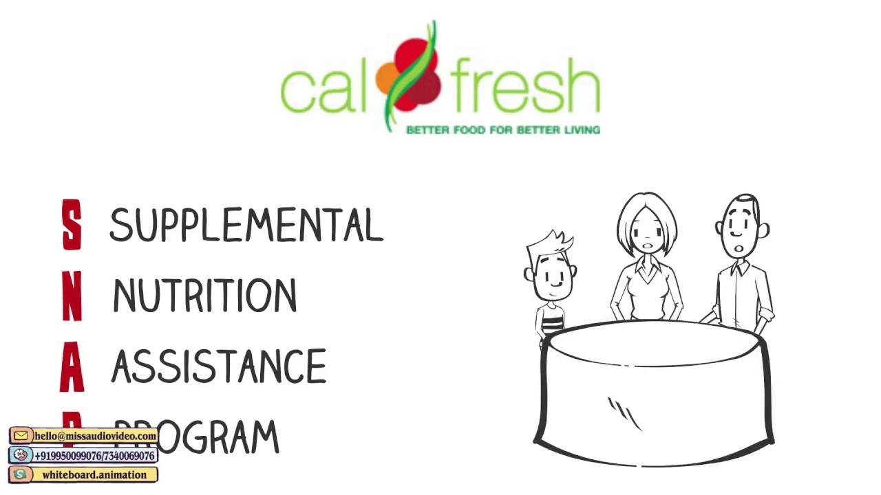 ✅ Grocery Store Advertisement Shopping App Commercial Best Whiteboard  Animation Videos: CalFresh