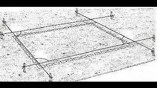 Разметка для фундамента своими руками(Как сделать разметку под фундамент своими руками. В принципе, при разметке фундамента под дом услуги специа..., 2016-06-08T18:08:50.000Z)
