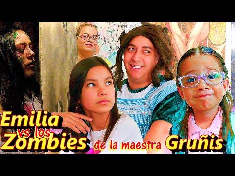 EMILIA VS LOS ZOMBIES de la Maestra GRUÑIS   Temp. 3 Ep. 2   TV Ana Emilia