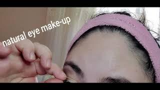 Натуральный макияж глаз Таабиий куз макияжи Natural eye makeup