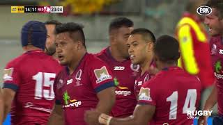 2018 Super Rugby Round 14: Hurricanes vs Reds