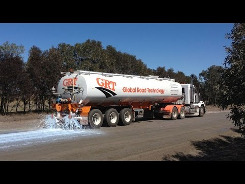 Global Road Technology Soil Stabilization and Dust Control Solutions Corporate Video