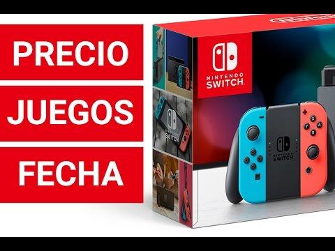 Nintendo Switch Precio Juegos Fecha De Lanzamiento Y Mas