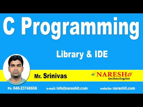Library And IDE | C Language Tutorial