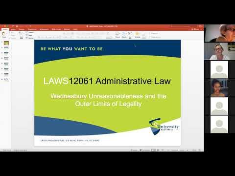Administrative Law: Wednesbury Unreasonableness