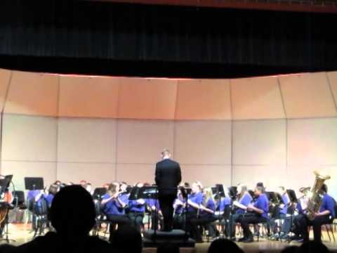 Three Rivers Middle School 8th Grade Band song three