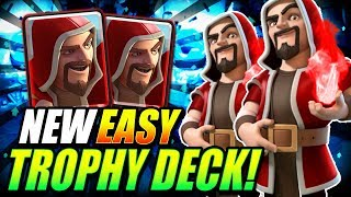 NEW EASY TROPHY PUSHING DECK [2019]!! ARENA 10 - ARENA 12 DECK