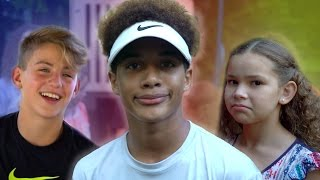 Justin's Playground FAILS!  (with MattyBRaps & Haschak Sisters)