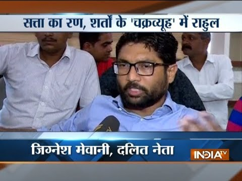 Gujarat election: Not joining any political party, says Jignesh Mevani