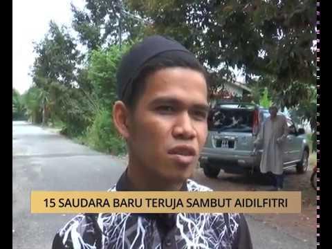 AWANI State [Kedah & Perlis]: 15 saudara baru teruja sambut Aidilfitri