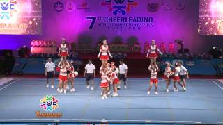 Team INDONESIA | Cheerleading World Championship 2013 (CWC) Bangkok, Thailand