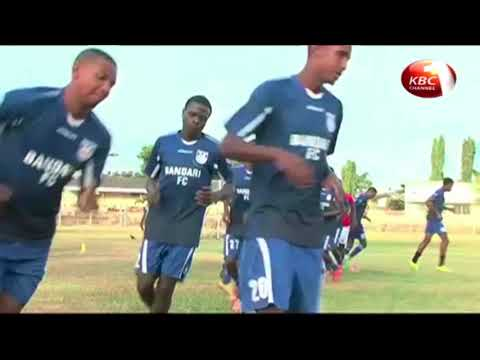 Anthony Wambani of Bandari FC named player of the month
