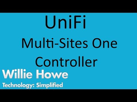 UniFi Multiple Sites - One Controller - YouTube