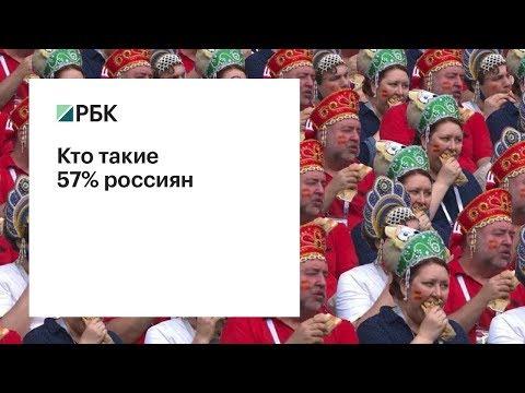 Кто такие 57% россиян