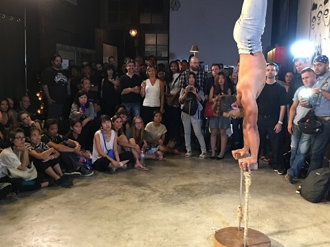 Cirque du Cambodia highlights and circus show @ the Filmmaker's Forum at Whiteline Nov 2016