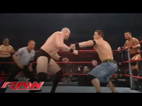 John Cena & Randy Orton Battle The Entire Raw Roster