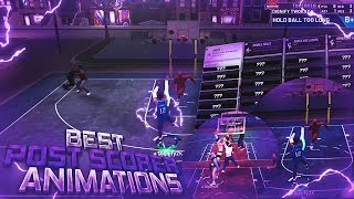 MY POST SCORER IS MAXED OUT! ALL *NEW* UNGUARDABLE ANIMATIONS FOR POST SCORERS NBA 2K19