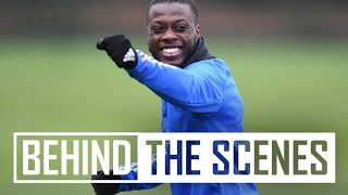 🎯 Shooting drills plus a run and finish from Reiss! | Behind the scenes at Arsenal Training Centre