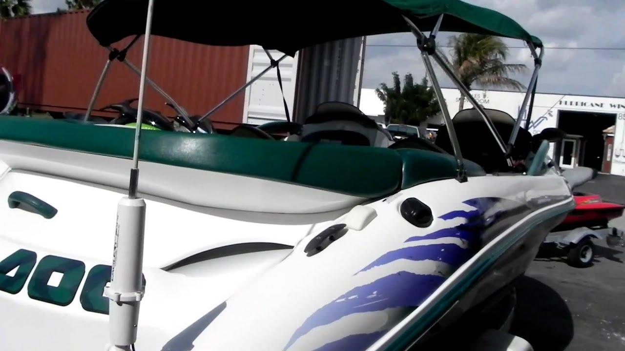 Seadoo Jet Boat >> LANCHA SEA DOO JET BOAT CHALLENGER 1998 - NITIDA-FOR SALE - YouTube