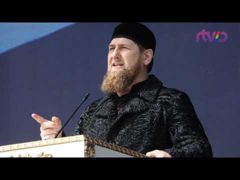Чеченские беженцы в