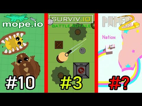 TOP 10 BEST .IO GAMES of 2019
