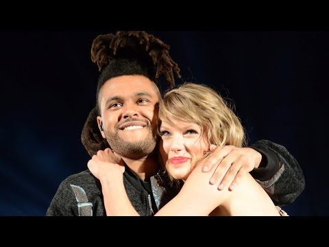 Taylor Swift LOVES Petting The Weeknd's Hair?