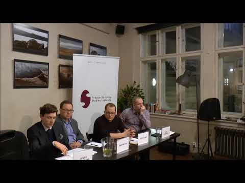 Public discussion on Czech Presidential election 2018 and disinformation; Prague, Czech Republic