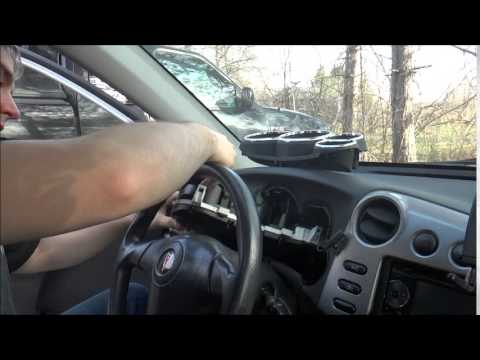 Removing Instrument Cluster And Bezel From Pontiac Vibe Toyota Matix