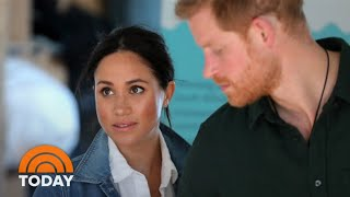 Prince Harry Blasts Media's Treatment Of Meghan Markle In Rare Statement | TODAY