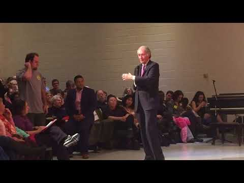 U.S. Sen. Ed Markey holds amherst town hall meeting