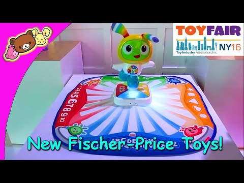 Mattel New Fisher-Price BeatBelle, BeatBowWow, Code-a-Pillar, & More - New York Toy Fair 2016!