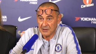 Maurizio Sarri Full Pre-Match Press Conference - Huddersfield v Chelsea - Premier League