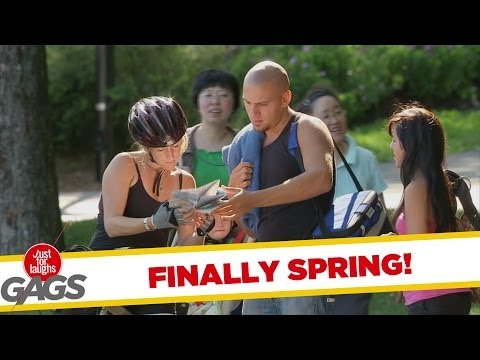 Silly Springtime Pranks - Best of Just for Laughs Gags