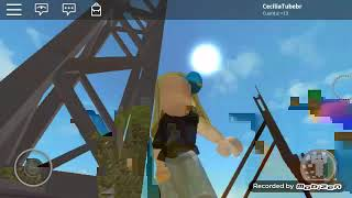 Roblox-Playing with my cousin (DSC)