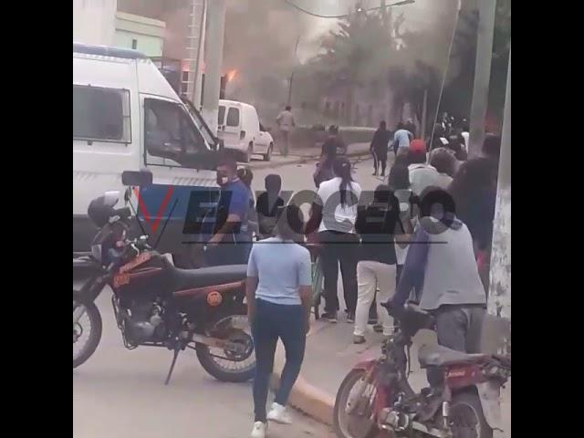 Incendio de vivienda en El Galpón