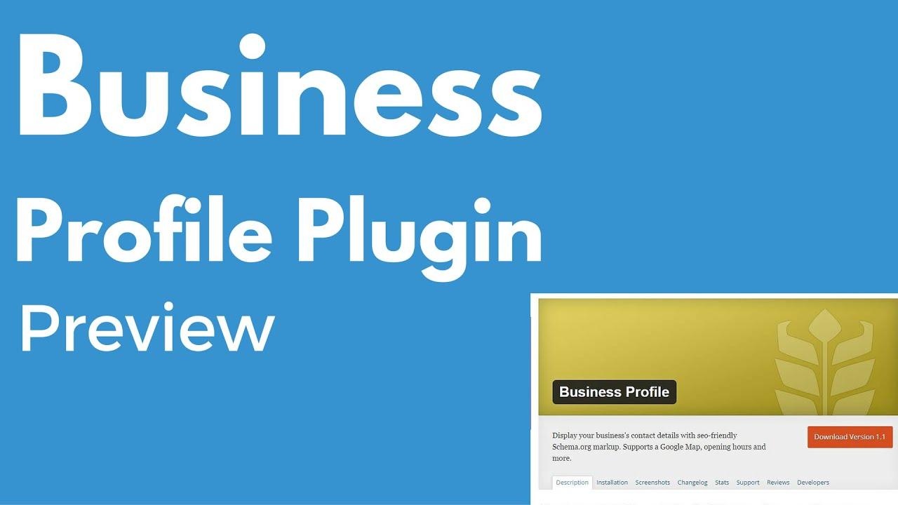 Business Profile WordPress plugin | Multiple locations | Local SEO ...