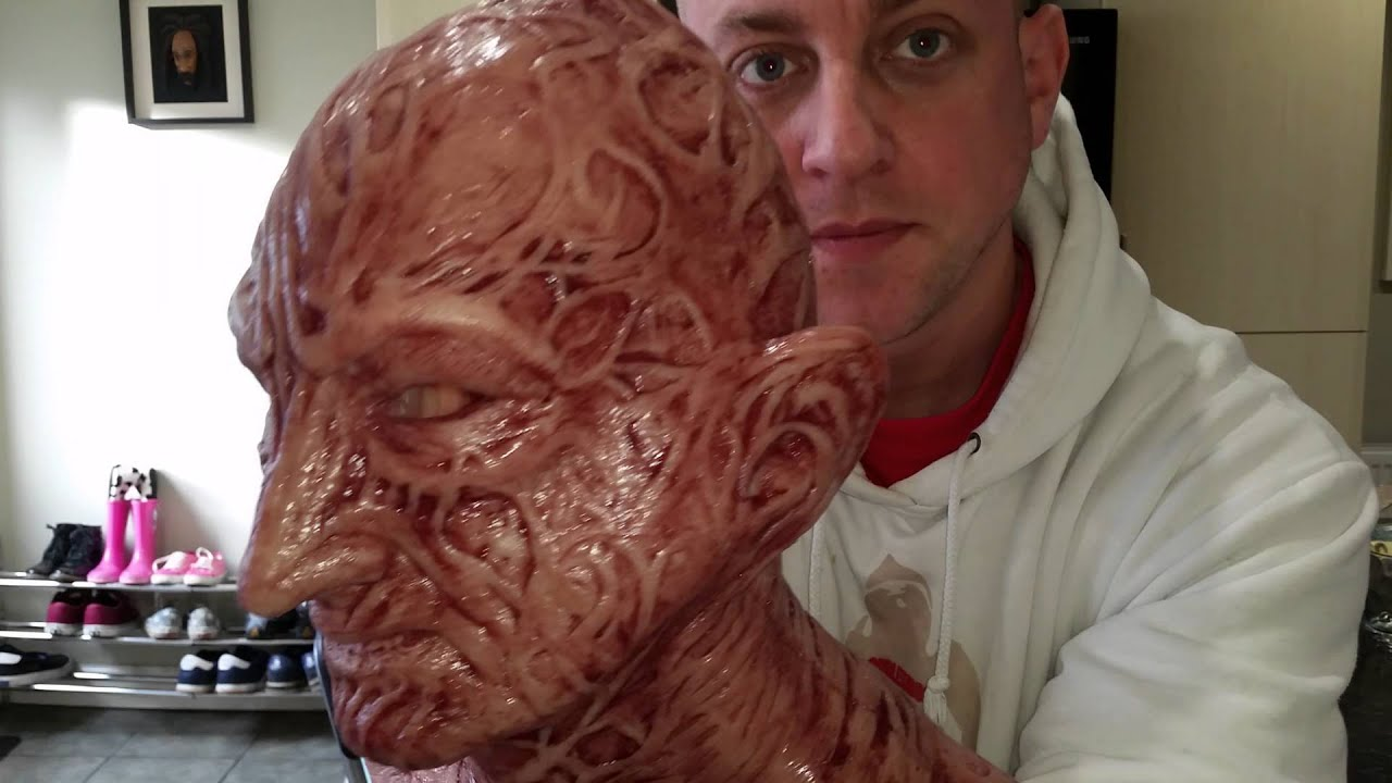 Mask Freddie Krueger: we create with our own hands