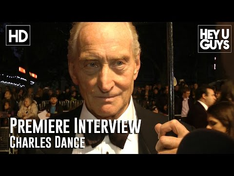 Charles Dance Interview - The Imitation Game Premiere