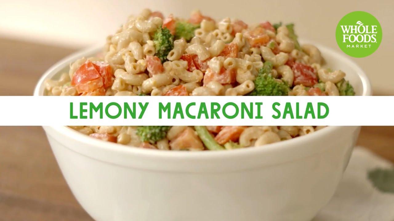 Lemony Macaroni Salad L Freshly Made Whole Foods Market