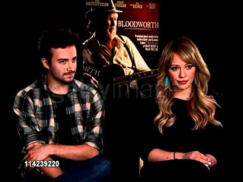 Hilary Duff and Reece Thompson Bloodworth