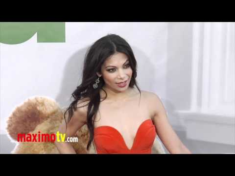 Ginger Gonzaga at TED Premiere ARRIVALS  Maximo TV Red Carpet Video