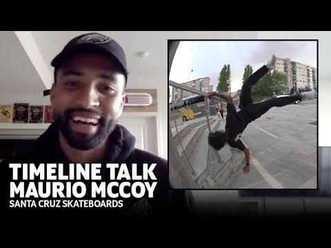 HOW TO FILM A VIDEO PART W/ Maurio McCoy | Santa Cruz Skateboards