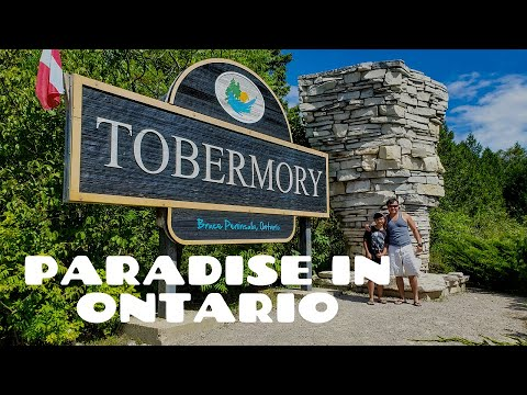 Tobermory Ontario Canada in 4K| Paradise in Ontario | The best Beach in Ontario |