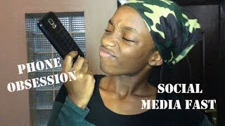 How to Spot a Phone Obsession    Social Media Fasting!