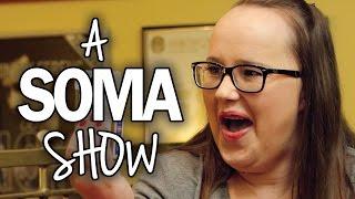 A Soma Show harmadik epizódjának Balázs Andrea színésznő a vendége....