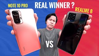 Redmi Note 10 Pro vs Realme 8 Full Comparison * Don't Waste Your Money *