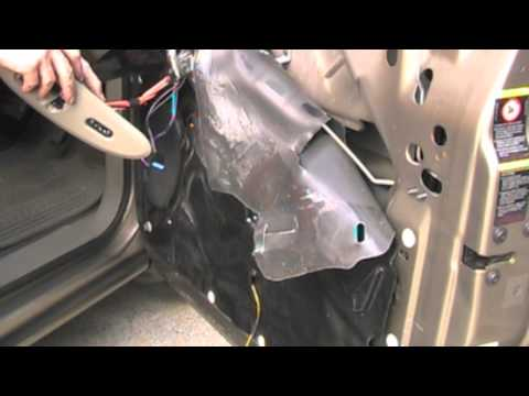 Chrysler Voyager Electric Window Repair